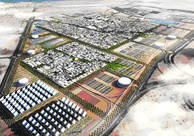 Artist Rendering of Masdar City